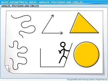 Animated video Lecture for Angles, Polygons and Circles