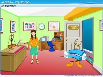 Animated video Lecture for Equations