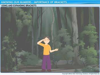 Animated video Lecture for Importance of Brackets