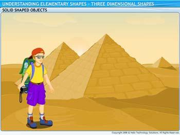 Animated video Lecture for Three Dimensional Shapes