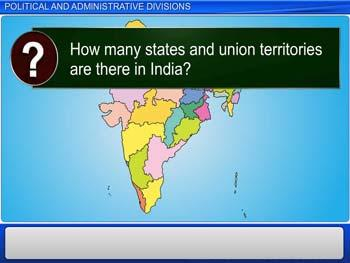Animated video Lecture for Political and Administrative Divisions