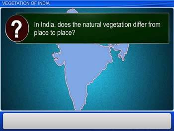 Animated video Lecture for Vegetation of India