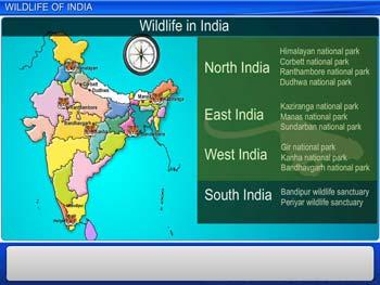 Animated video Lecture for Wildlife of India