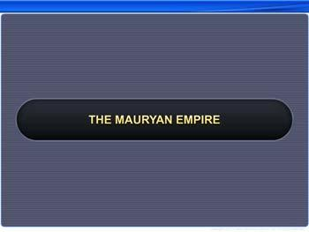 Animated video Lecture for The Mauryan Empire