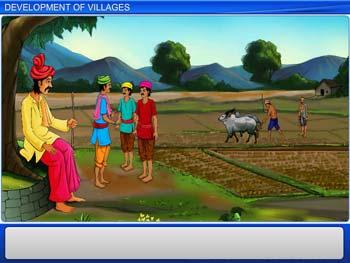 Animated video Lecture for Development of Villages