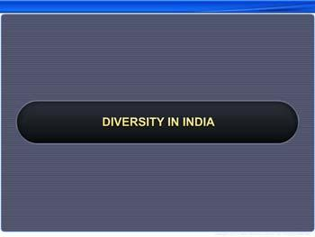 Animated video Lecture for Diversity in India