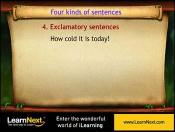 Animated video Lecture for Exclamatory Sentences