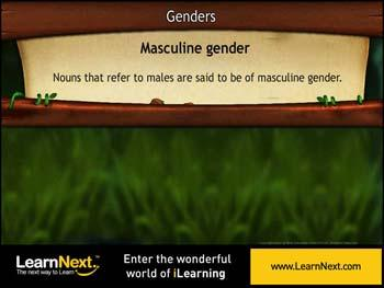 Animated video Lecture for Genders