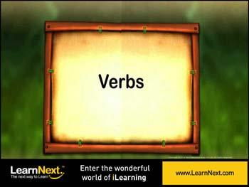 Animated video Lecture for Introduction to verbs