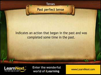 Animated video Lecture for Past Perfect Tense - usage