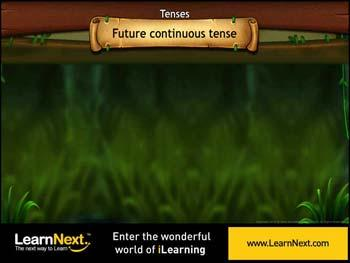Animated video Lecture for Future Continuous Tense - Usage