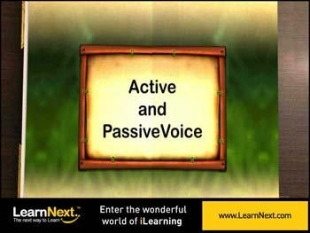 Animated video Lecture for Active voice and passive voice - Introduction