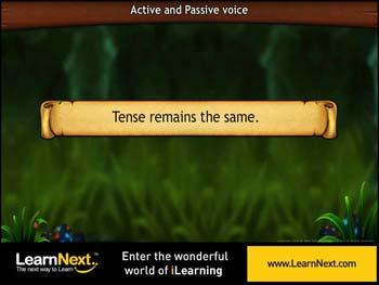 Animated video Lecture for Tense in passive voice