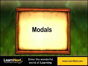 Animated video Lecture for Introduction to Modals