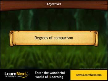 Animated video Lecture for Degrees of Comparison