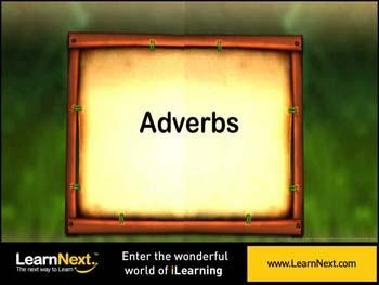 Animated video Lecture for Introduction to Adverbs