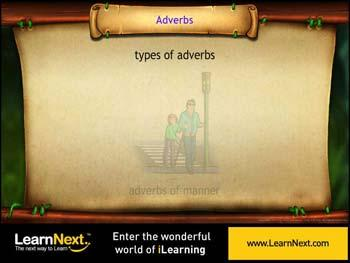 Animated video Lecture for Types of Adverbs