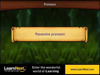 Animated video Lecture for Possessive Pronouns