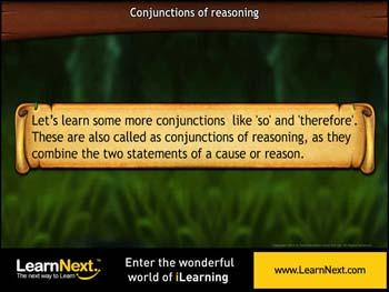 Animated video Lecture for More conjunctions of reasoning