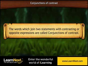 Animated video Lecture for Conjunctions of Contrast