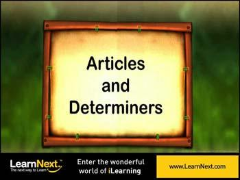 Animated video Lecture for Articles - Introduction