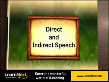 Animated video Lecture for Direct and Indirect Speech - Introduction