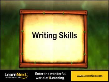 Animated video Lecture for Writing Skills - Introduction