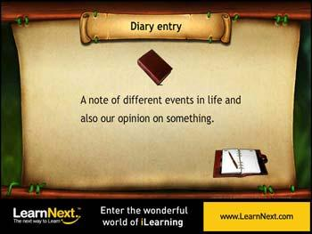 Animated video Lecture for Diary Entry