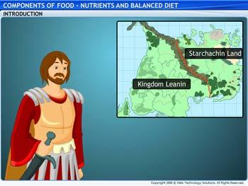 Animated video Lecture for Nutrients and Balanced Diet