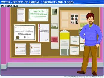 Animated video Lecture for Effects of Rainfall - Droughts and Floods