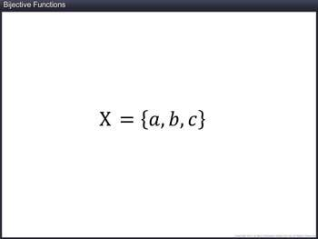 Animated video Lecture for Bijective Functions
