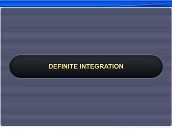 Animated video Lecture for Definite Integration