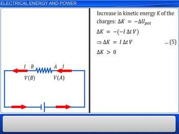 Animated video Lecture for Electrical Energy and Power