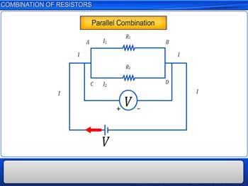 Animated video Lecture for Combination of Resistors