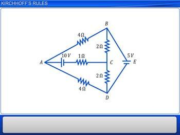 Animated video Lecture for Kirchhoff`s Rules