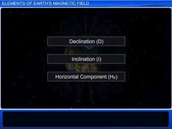 Animated video Lecture for Elements of Earth's Magnetic Field