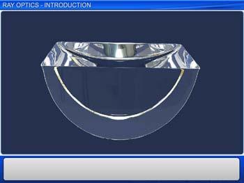 Animated video Lecture for Ray Optics Introduction