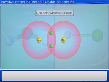 Animated video Lecture for Crystalline Solids: Molecular and Ionic Solids
