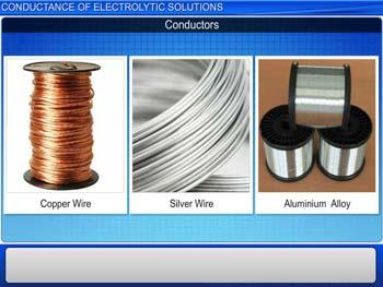Animated video Lecture for Conductance of Electrolytic Solutions