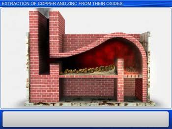 Animated video Lecture for Extraction Of Copper And Zinc From Their Oxides