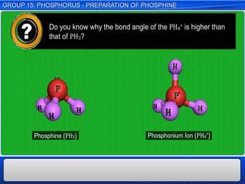 Animated video Lecture for Group 15: Phosphorus - Properties And Uses Of Phosphine