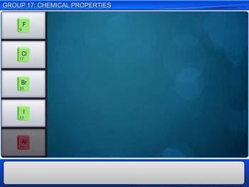 Animated video Lecture for Group 17: Chemical Properties