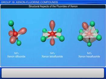 Animated video Lecture for Group 18: Xenon - Fluorine Compounds