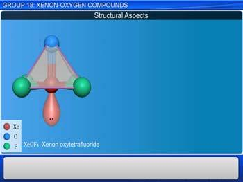 Animated video Lecture for Group 18: Xenon - Oxygen Compounds