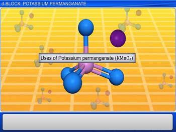 Animated video Lecture for d-Block: Potassium Permanganate