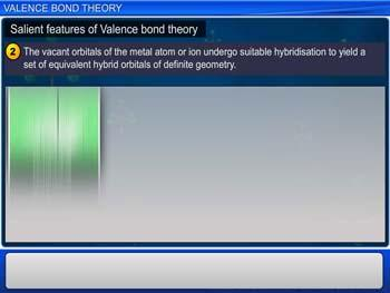 Animated video Lecture for Valence Bond Theory
