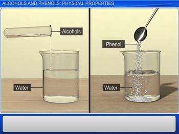 Animated video Lecture for Alcohols And Phenols: Physical Properties