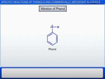 Animated video Lecture for Specific Reactions Of Phenols And Commercially Important Alcohols