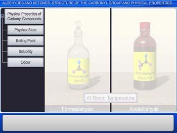 Animated video Lecture for Aldehydes And Ketones: Structure Of The Carbonyl Group And Physical Properties