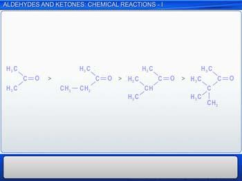 Animated video Lecture for Aldehydes And Ketones: Chemical Reactions - I